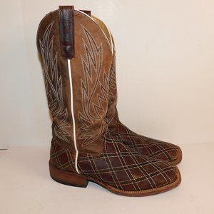 Anderson Bean HP Boots With Zig Zag Patchwork